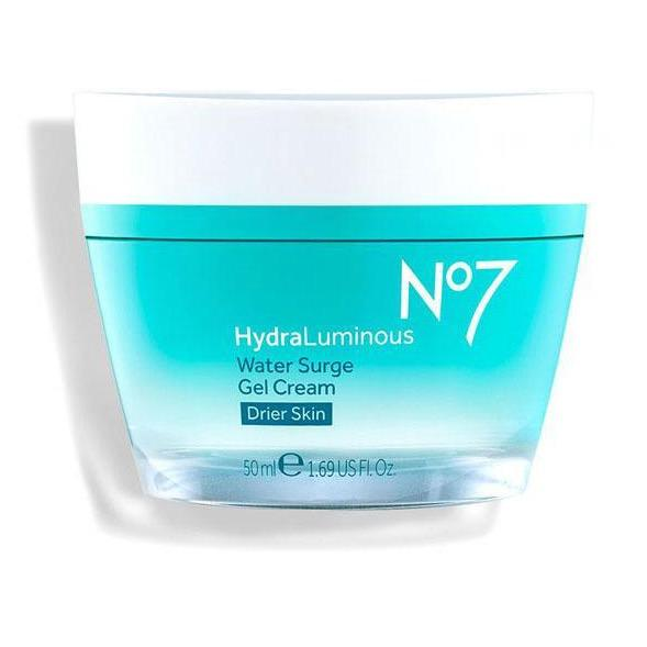 No7 HydraLuminous Water Surge Gel Cream Drier Skin