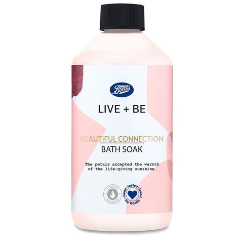 Boots Live + Be Beautiful Connection Bath Soak With Oil