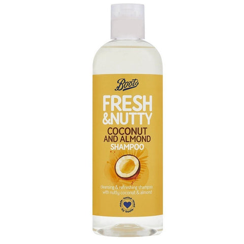 Boots Fresh Coconut & Almond Shampoo 500ml