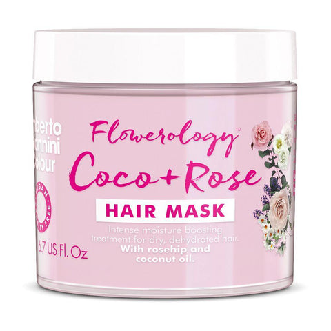 Umberto Giannini Flowerology Coco + Rose Hair Treatment Mask