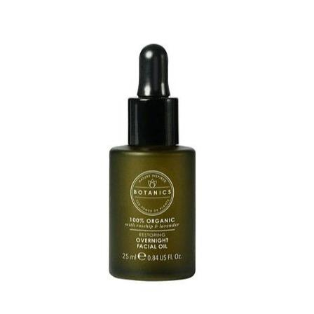 Botanics Organic Overnight Facial Oil 25ml