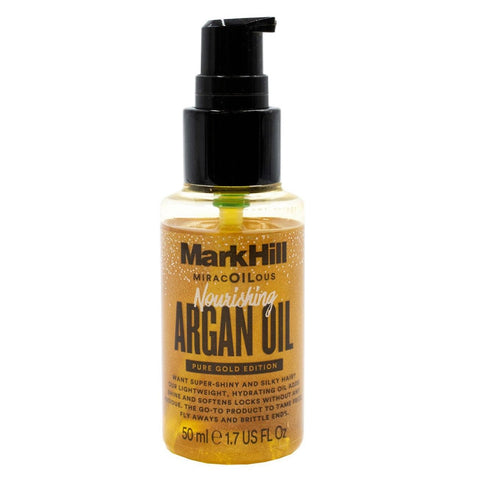 Mark Hill Miracoilous Pure Gold Edition Nourishing Argan Oil 50ml