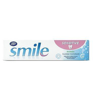 Boots Smile Sensitive Toothpaste  100ml
