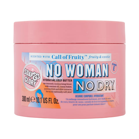 زبدة الجسم No Woman No Dry من Soap & Glory بسعة 300 مل - برائحة Call of Fruity
