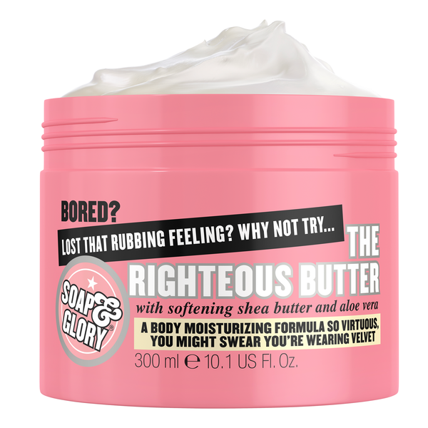 زبدة الجسم The Righteous من Soap & Glory سعة 300 مل