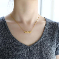 Cancer Stainless Steel Zodiac Necklace - Starfyx