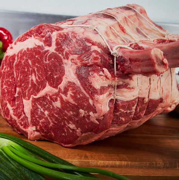 Beef Bone in Choice Rib Roast -3, 5 or 7 Bone