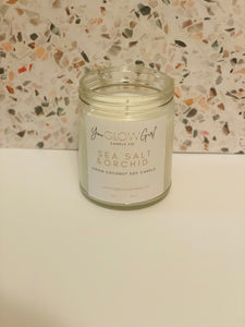 Sea Salt & Orchid Candle