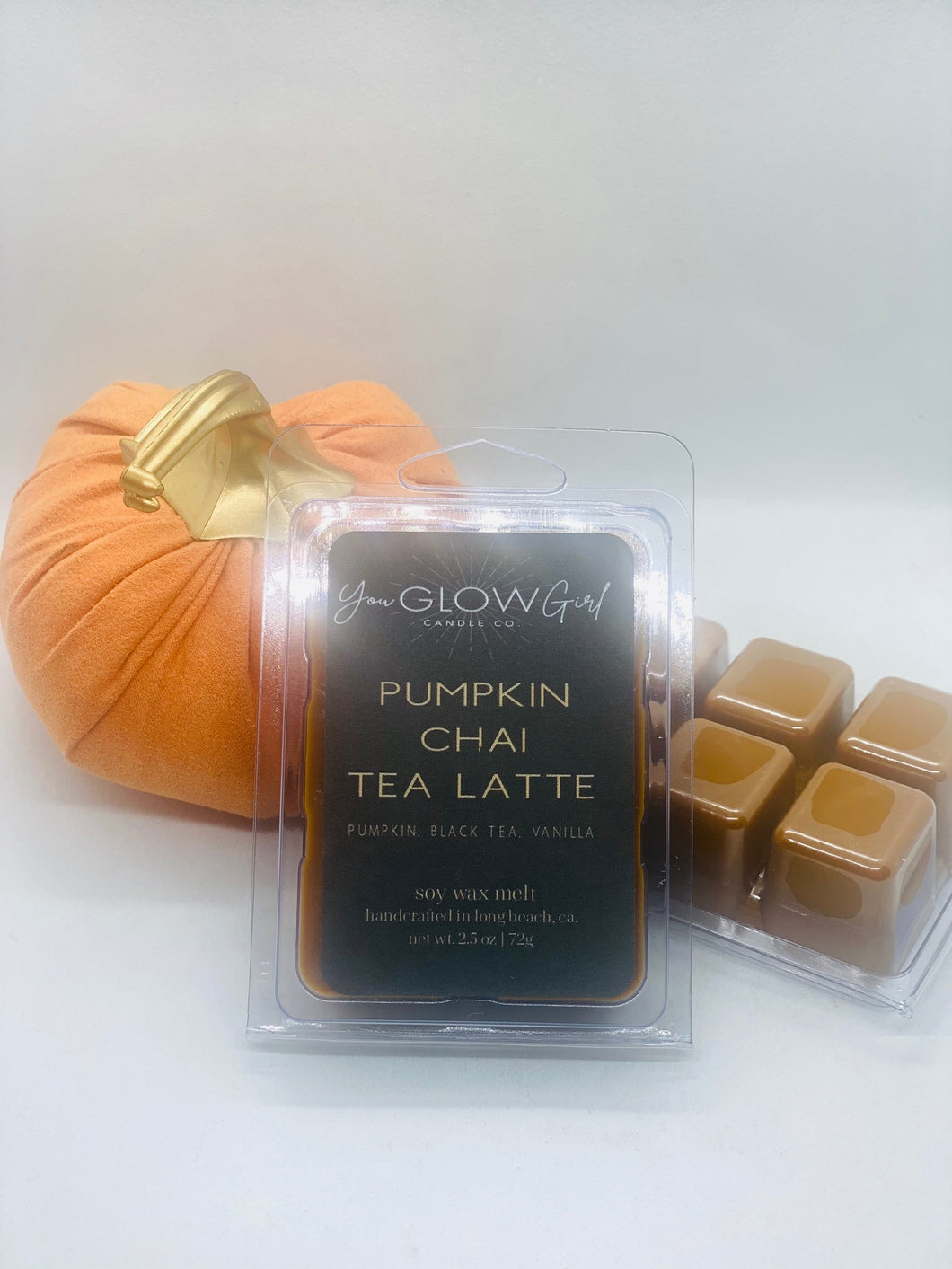 Pumpkin Chai Tea Latte Wax Melt (BOGO)