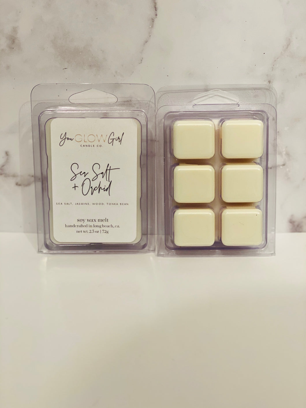 Sea Salt & Orchid Wax Melt