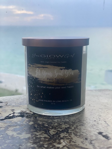 Let Your Soul Glow Candle