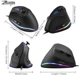 ZELOTES C-18 Vertical Wired USB 10000 DPI