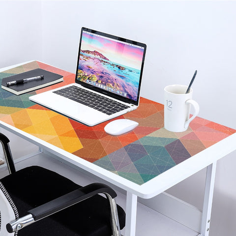 Large 90x40cm Colorful Mouse Pad