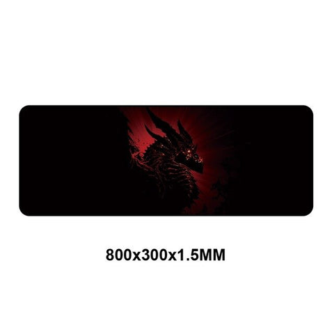 Rubber Gaming Mouse pad XXL