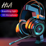 H&A Gaming Headset Surround Sound Stereo Wired