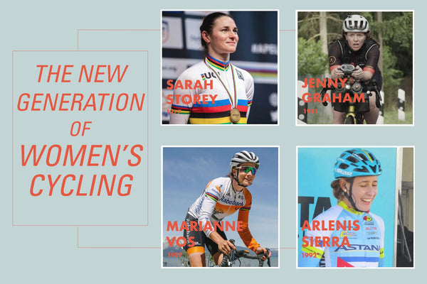 new generation of women cycling