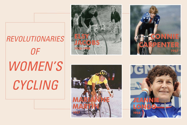 Jeannie Longo Marianne martin connie carpenter elsy Jacobs women cyclist