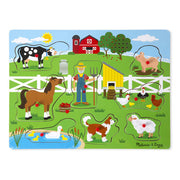 See and Hear Sound Puzzle-Old MacDonald's Farm