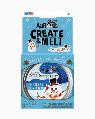 Create and Melt Holiday Scentsory Putty - Frosty Friend