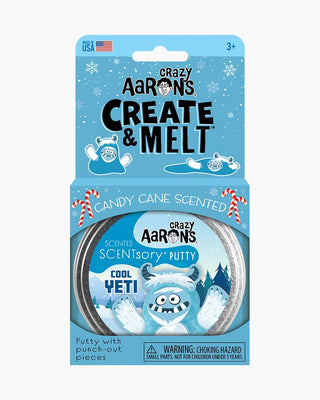 Create and Melt Holiday Scentsory Putty - Cool Yeti