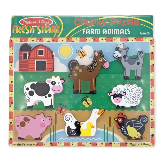 Farm Animals Chunky Puzzle