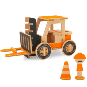 Play-Deco Fork Lift Note Pad