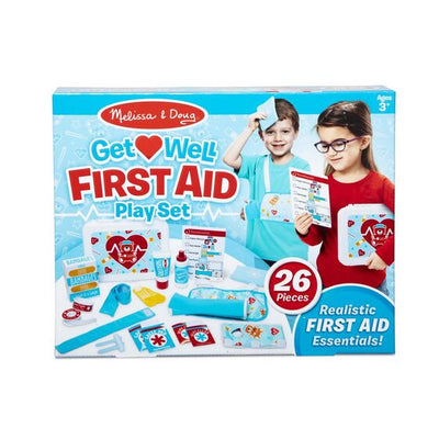 Melissa & Doug Get Well First Aid Kit Play Set
