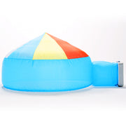 Beach Ball Blue Air Fort Tent