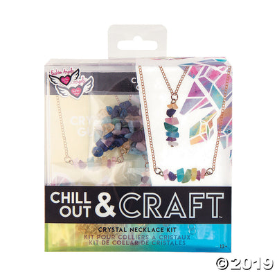 Chill Out & Craft - Crystal Necklace Kit