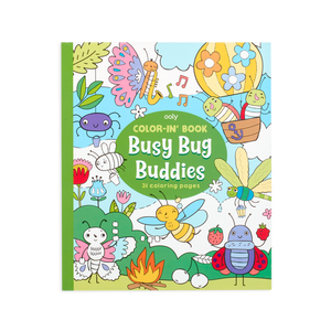 Color-in Book -Busy Bug Buddies