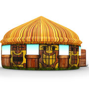 Tiki Hut Air Fort Tent