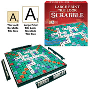 Large Print Tile Lock Scrabble