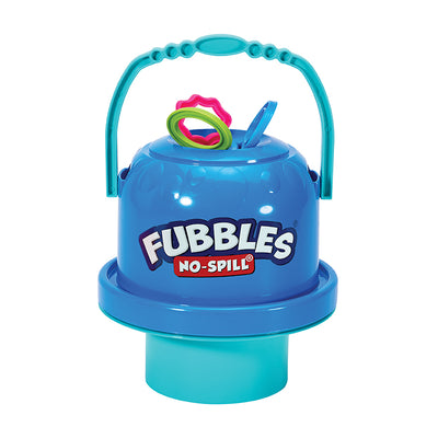 Fubbles® No-Spill® BLUE Big Bubble Bucket® w/Bubble Solution