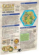 Settlers of Catan:  Oil Springs Expansion