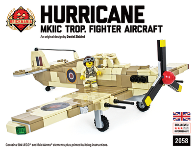 Hurricane MKII Trop Fighter Aircraft