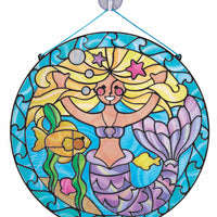 M&D Stained Glass Made Easy Mermaid