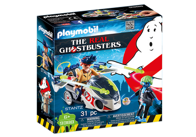 9388 Ghostbusters Stantz with Skybike