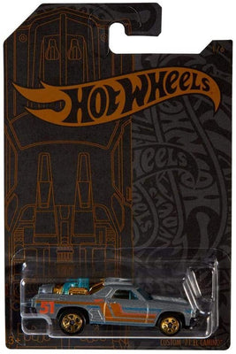 Hot Wheels Satin & Chrome El Camino