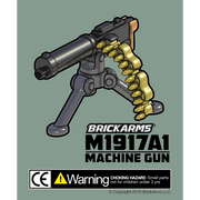 BrickArms M1917A1 Machine Gun - Minifigure Scale