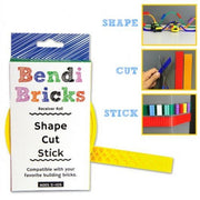 Bendi Bricks Receiver Roll - Yellow