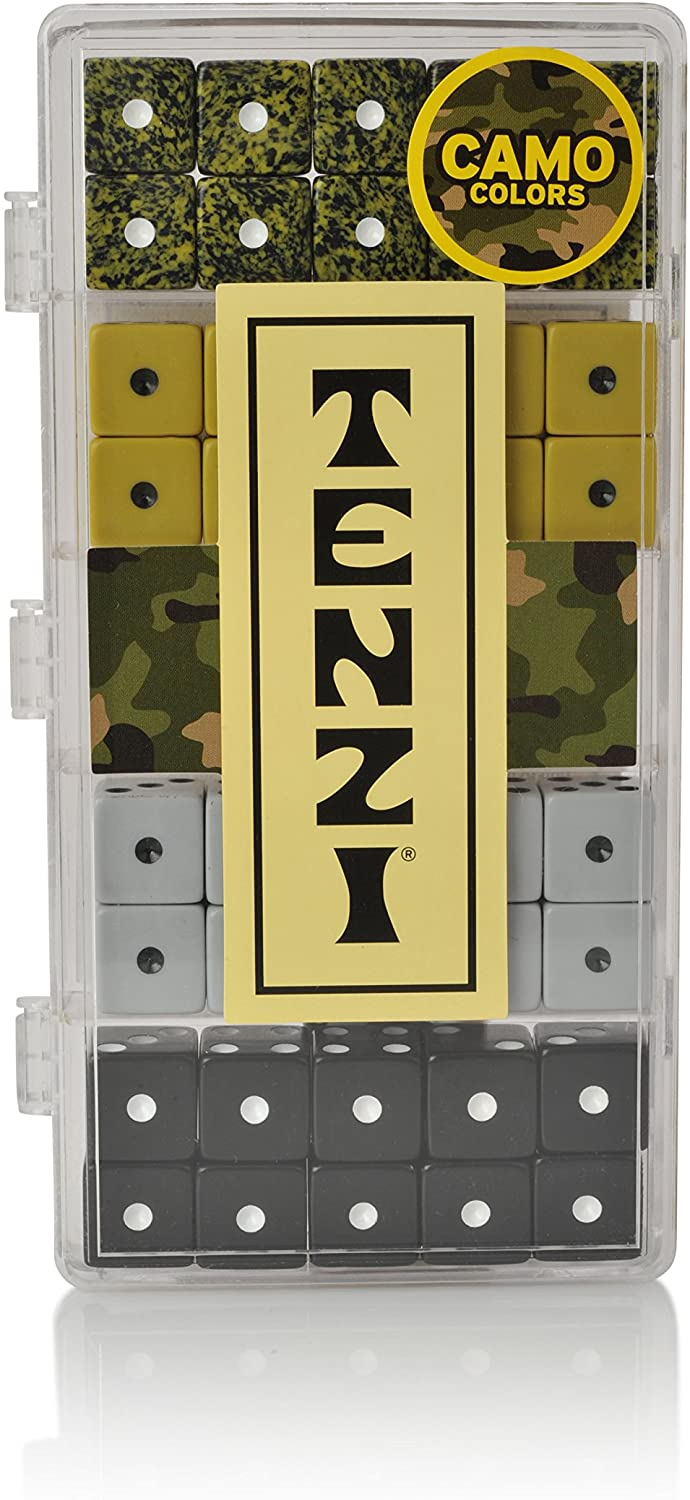 Tenzi Select Set Camo Colors