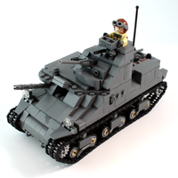 Brickmania M3 LEE ALLIED MEDIUM TANK