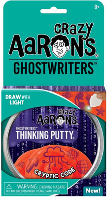Cryptic Code Ghostwriter Thinking Putty