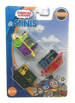 Thomas & Friends Minis 3-Pack-Jester Luke