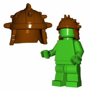 Brick Warrior Goblin Helmet