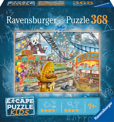 129362 Escape Puzzle - Amusement Park Plight - 368 pc