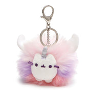 Super Pusheenicorn Pom Keychain