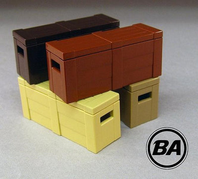 BrickArms Weapons Crate - Brown
