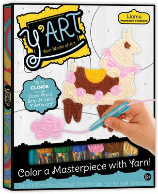 Y'Art Craft Kit - Llama