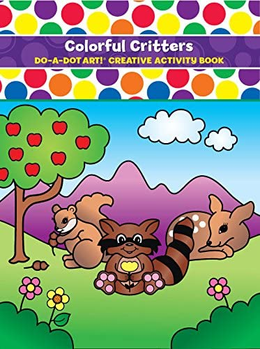 Do-A-Dot Colorful Critters Activity Book
